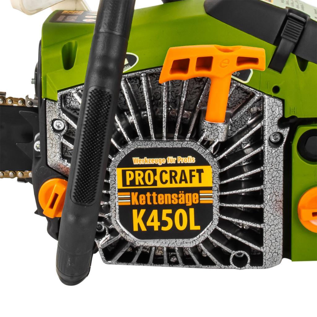 Бензопила Procraft K450L - Фотография №6