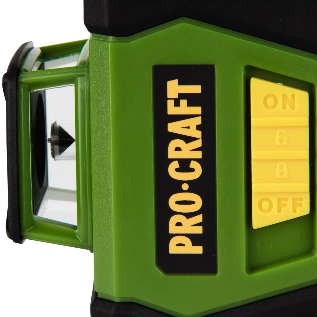 Лазерный уровень Procraft LE-3G - Фотография №4