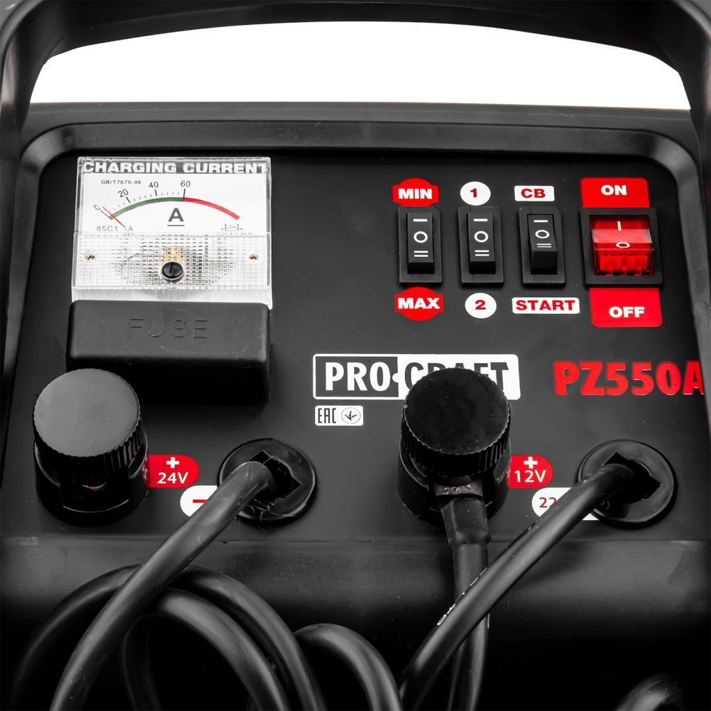 Пуско-зарядное устройство Procraft PZ550A - Фотография №5