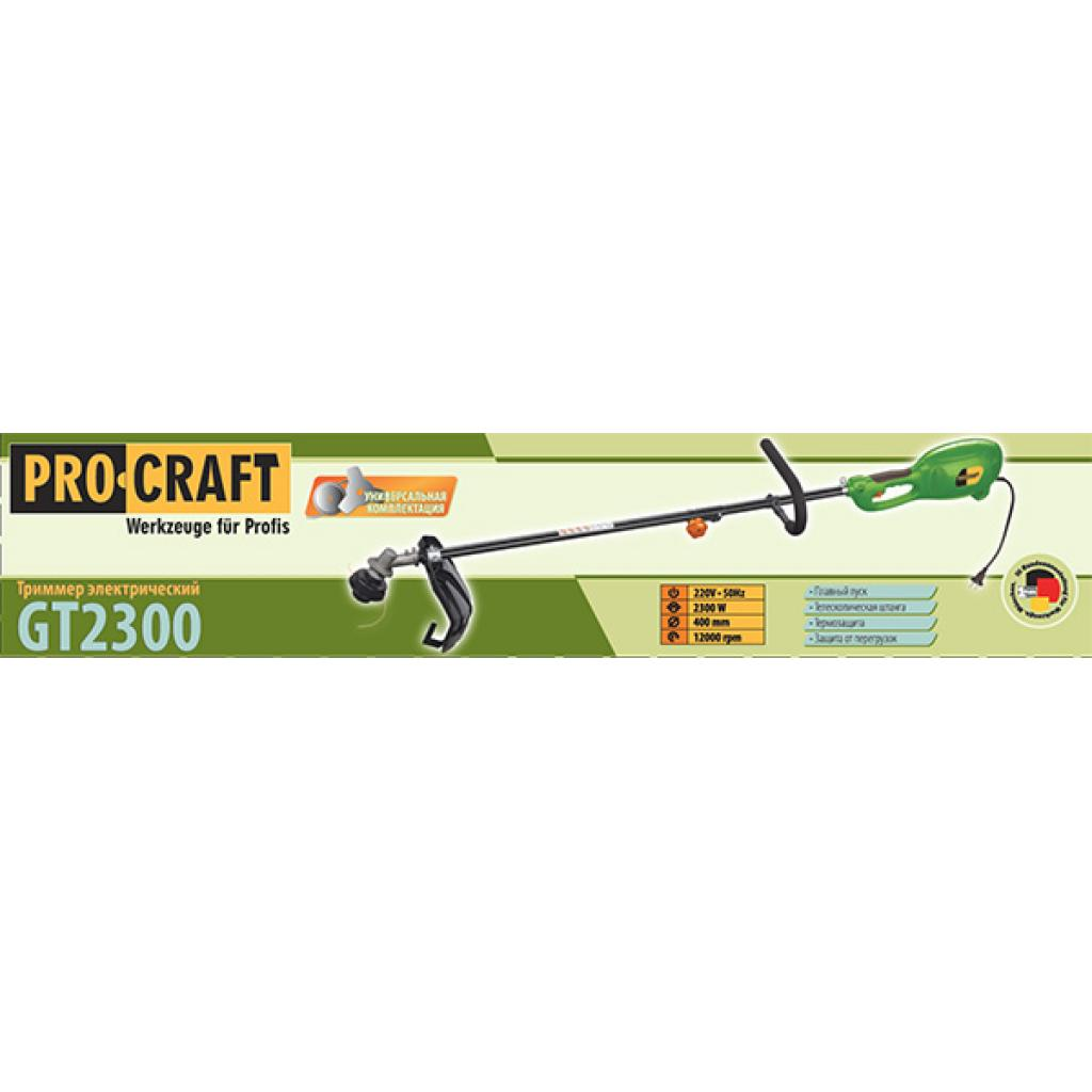 Коса электро Procraft GT2300