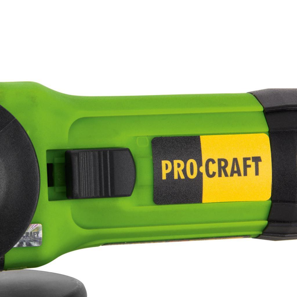 Углошлифовальная машина Procraft PW1100E 125 мм - Фотография №5