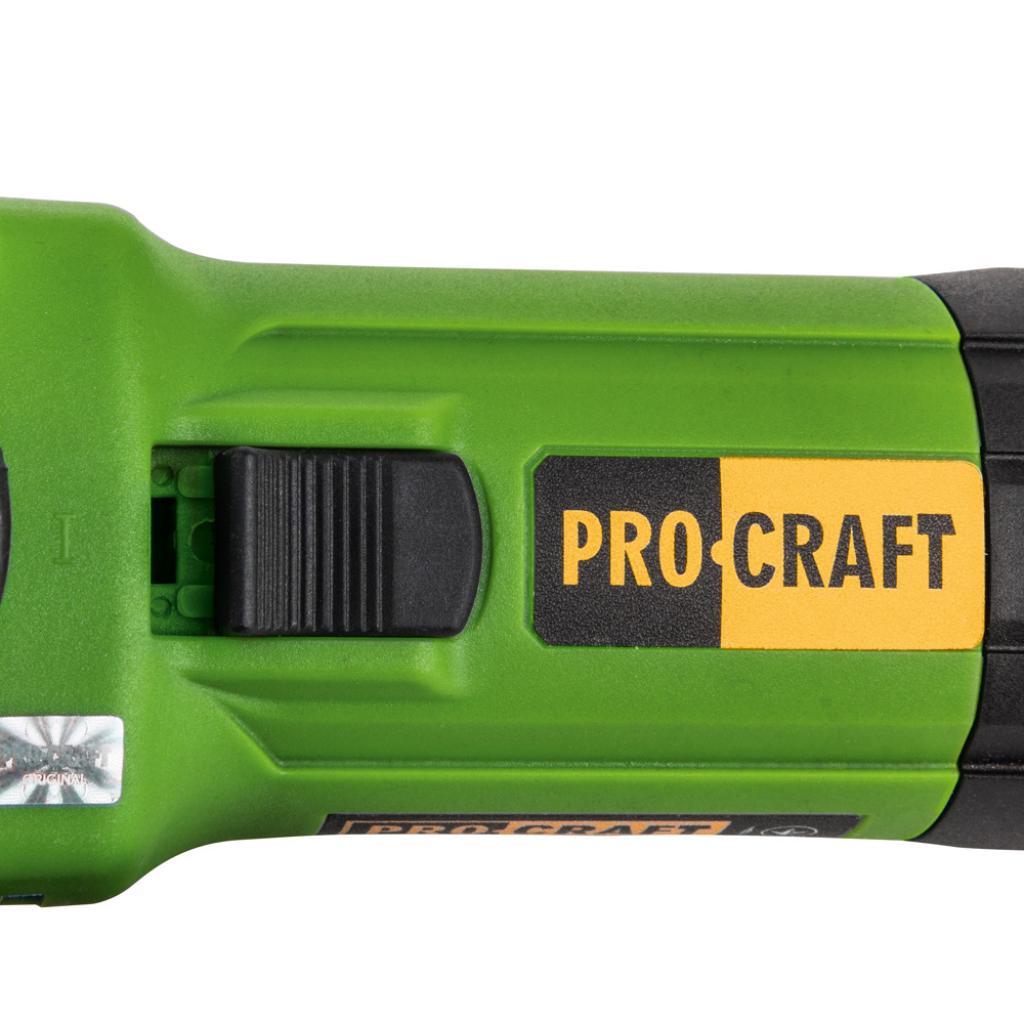 Углошлифовальная машина Procraft PW1100E 125 мм - Фотография №2
