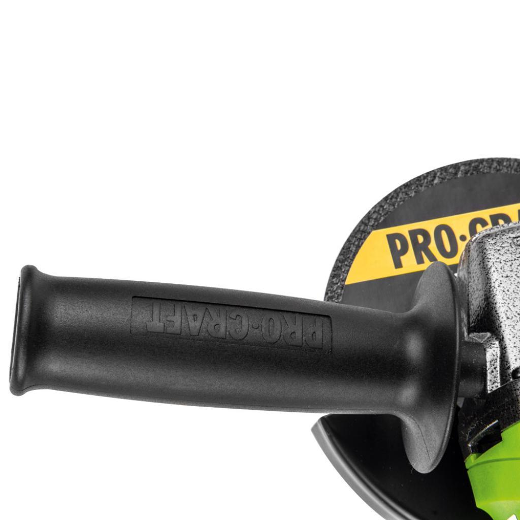 Углошлифовальная машина Procraft PW1200 125 мм - Фотография №5