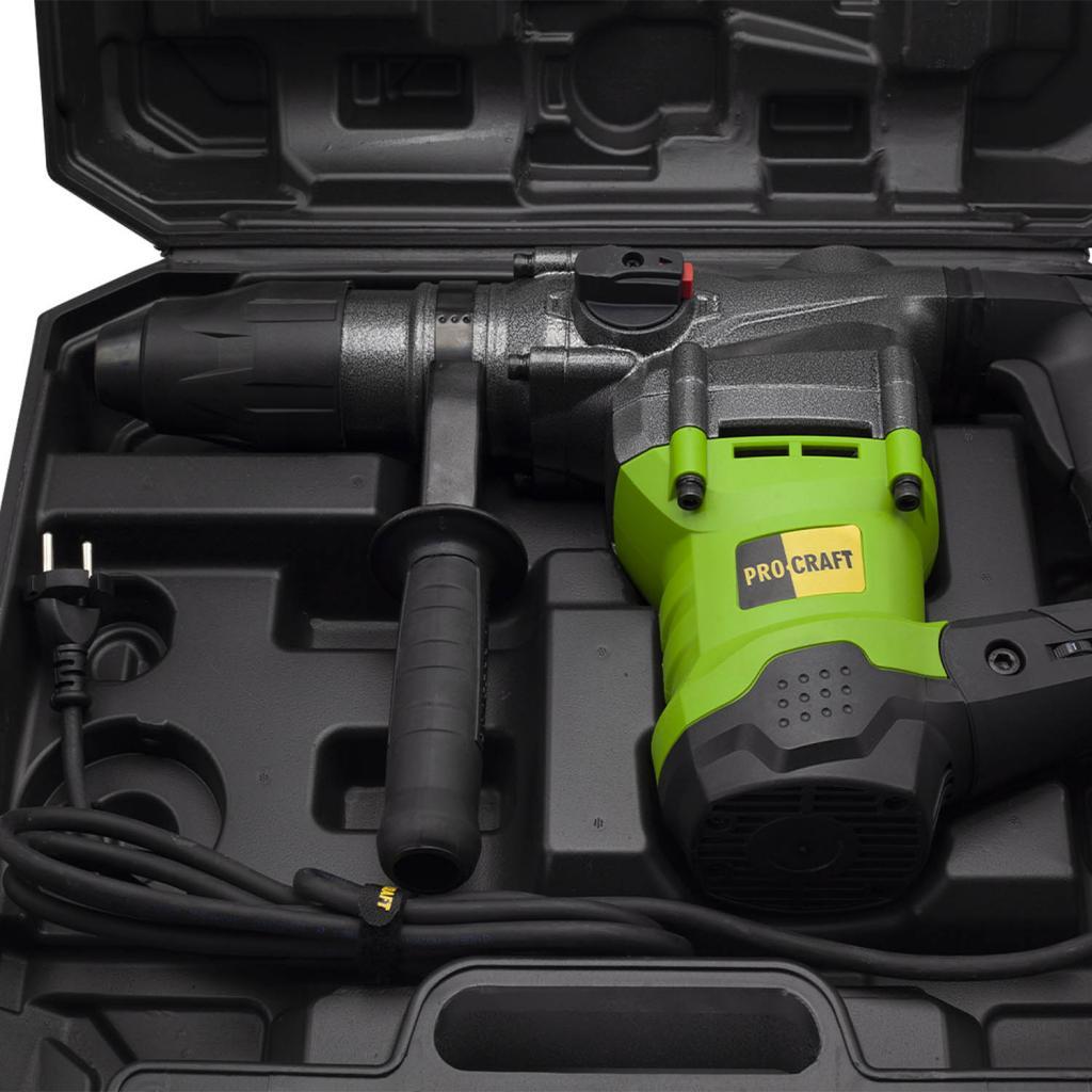 Перфоратор Procraft BH2350 SDS MAX professional NEW - Фотография №4