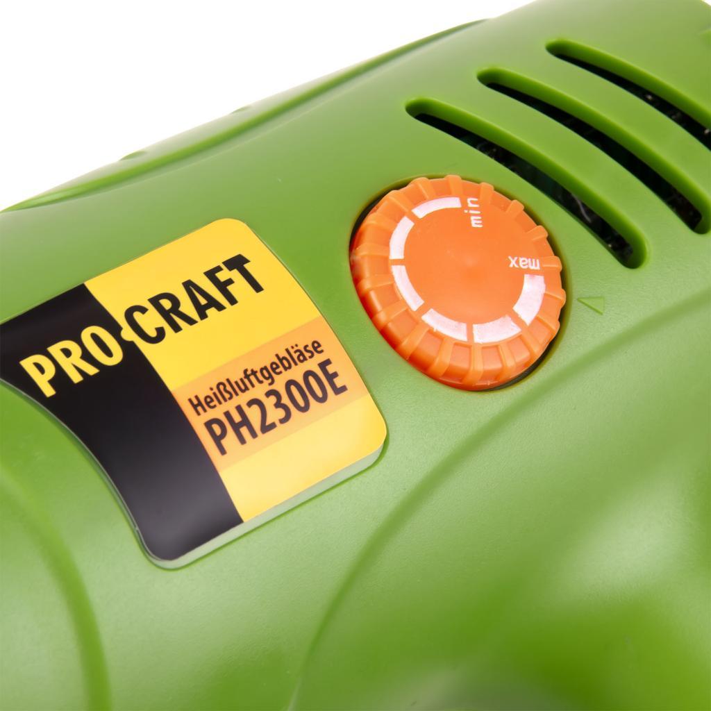 Фен промышленный Procraft PH2300E - Фотография №5