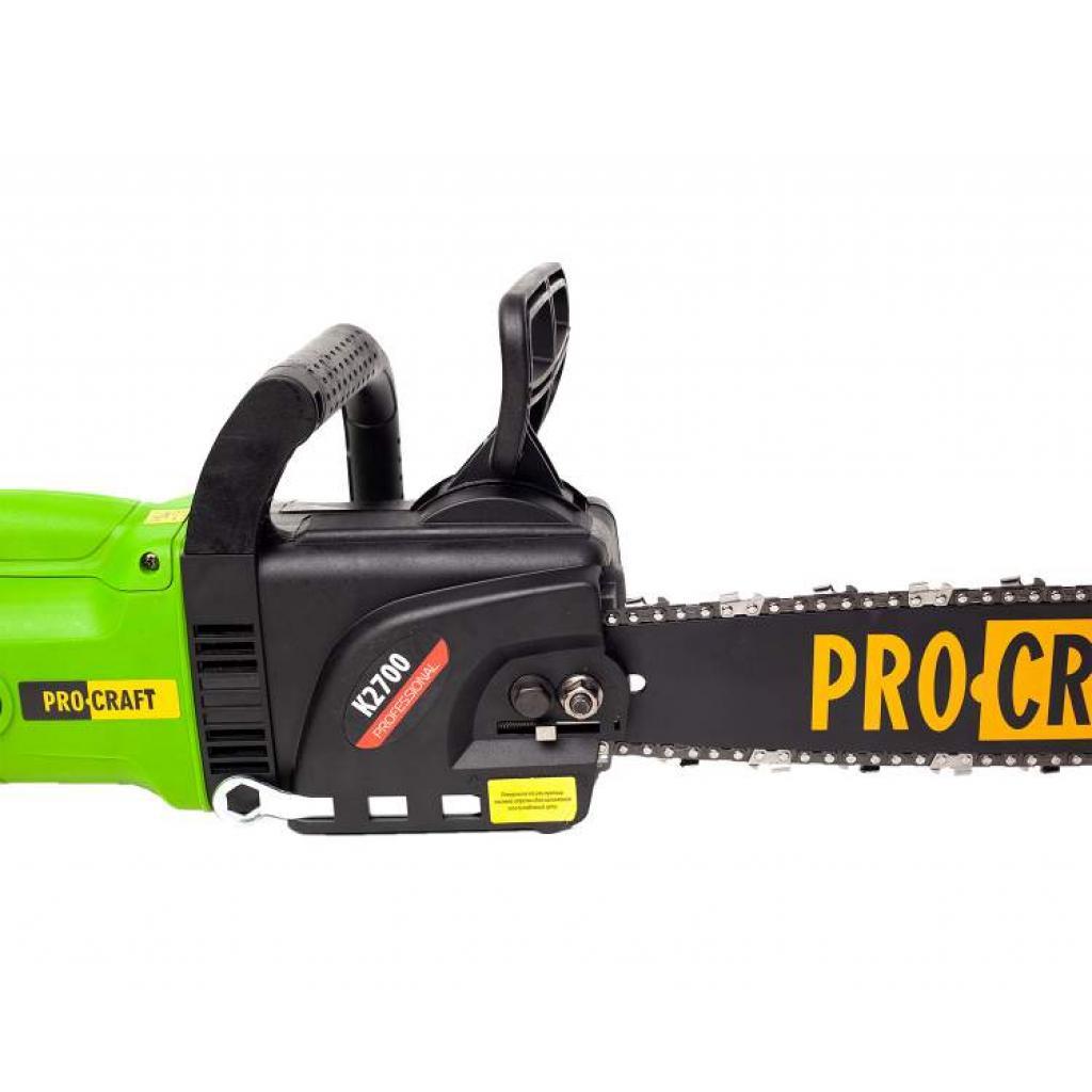 Цепная пила Procraft K2700 прямая - Фотография №2