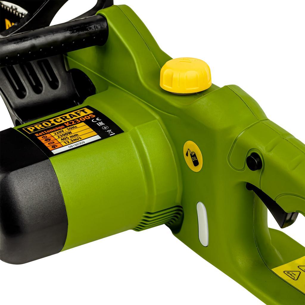 Цепная пила Procraft K2300S боковая - Фотография №3