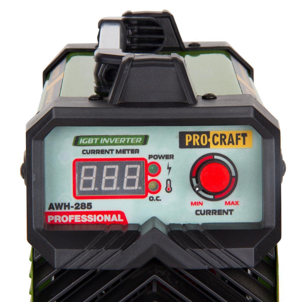 Инверторный сварочный аппарат Procraft AWH285 - Фотография №3