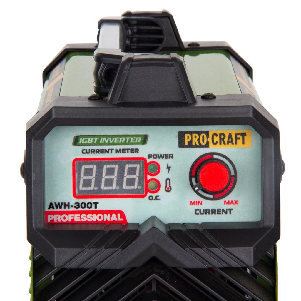 Инверторный сварочный аппарат Procraft AWH300T - Фотография №2
