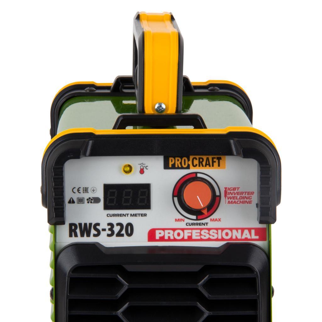 Инверторный сварочный аппарат Procraft RWS320 - Фотография №3