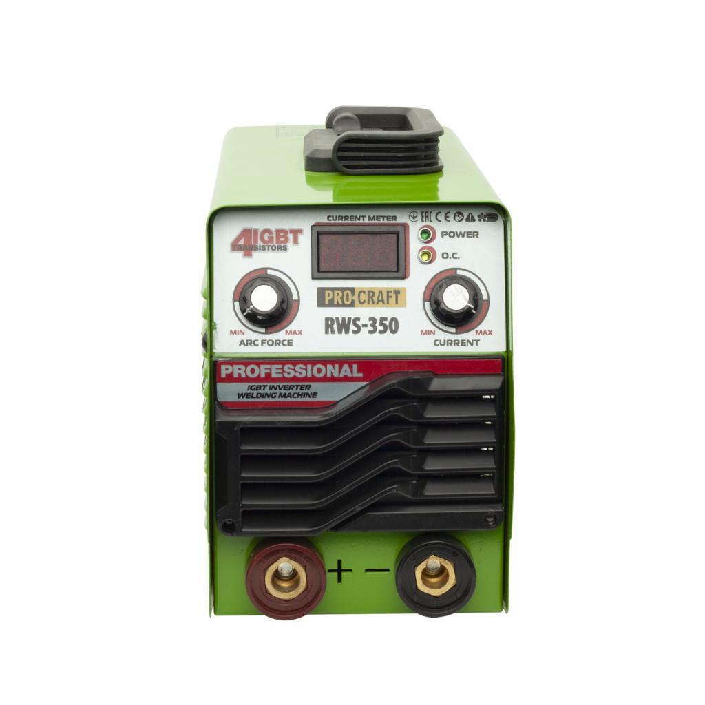 Инверторный сварочный аппарат Procraft RWS350 - Фотография №1