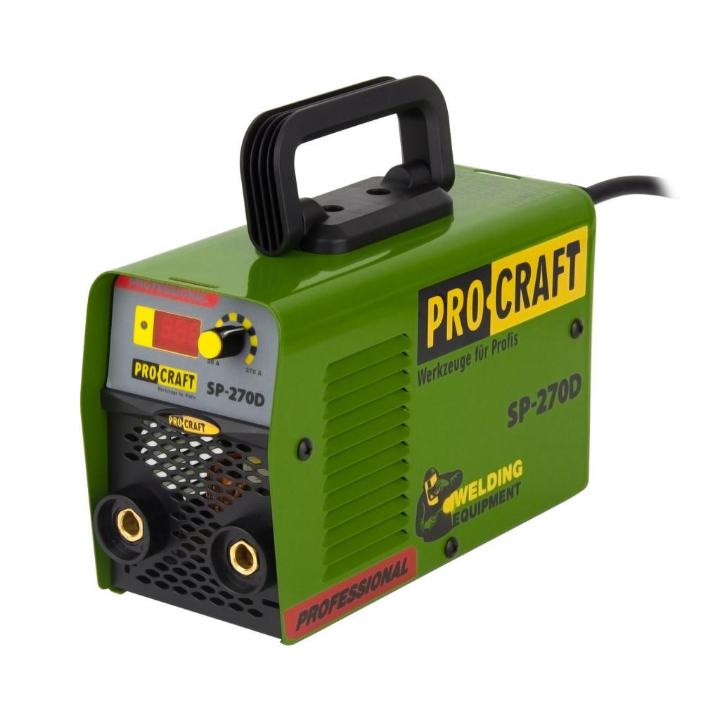 Инвертор сварочный аппарат Procraft SP270D