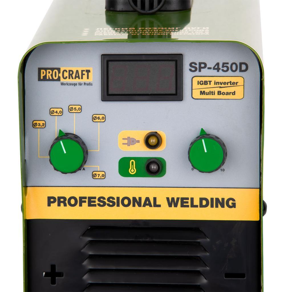 Инвертор сварочный аппарат Procraft SP450D(380В) - Фотография №2