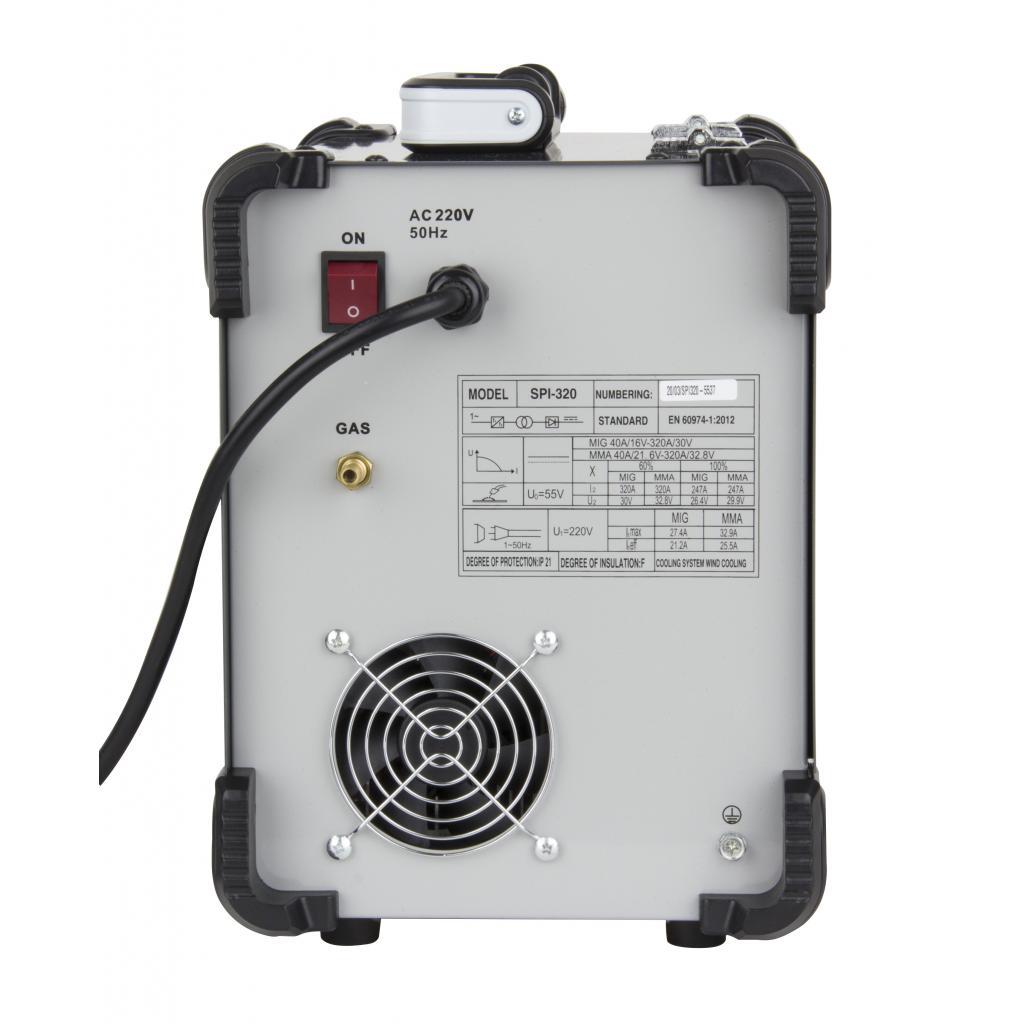 Инверторный сварочный полуавтомат Procraft industrial SPI320 - Фотография №6