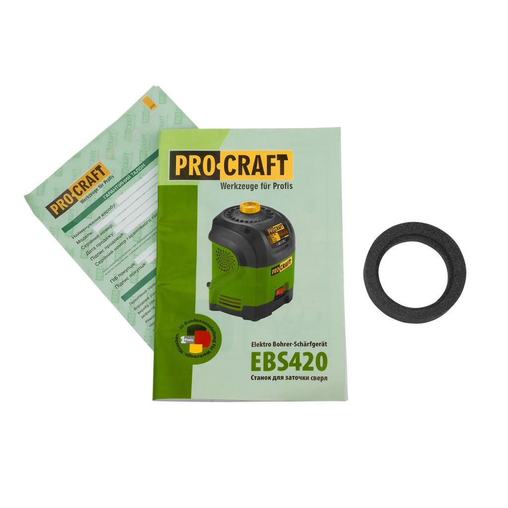 Заточка для сверл Procraft EBS420 - Фотография №1
