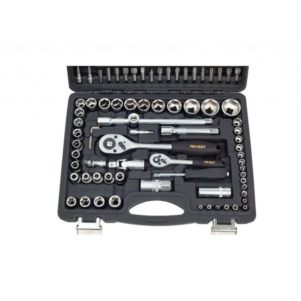 Набор ручного инструмента Procraft WS-108/72 - Фотография №2